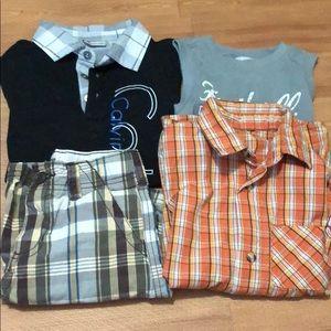Boys bundle of 4 pieces